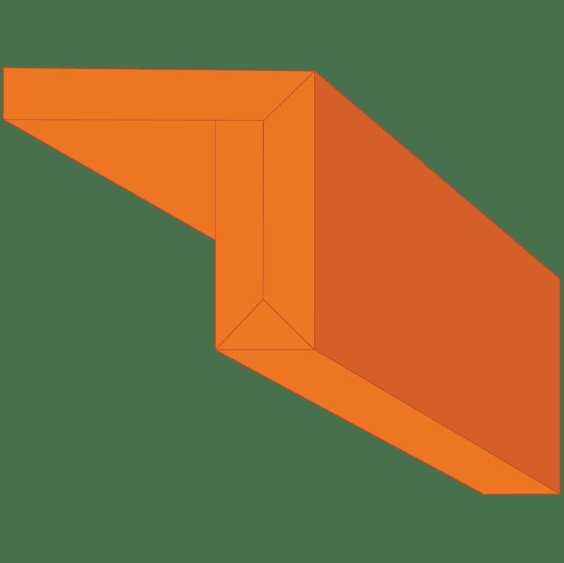 Edge-FX Preformed Gypsum Drywall profile #004