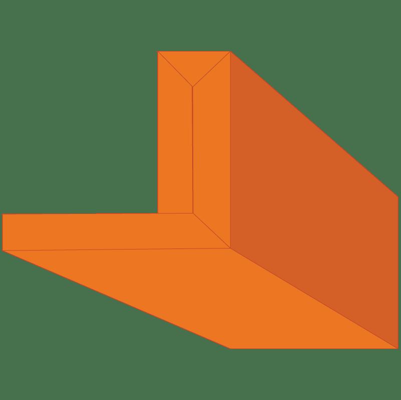 Edge-FX Preformed Gypsum Drywall profile #006