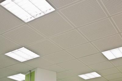 acoustic ceiling tile for t-bar grid